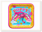 Trolls Dinner Square Plate 8 ct