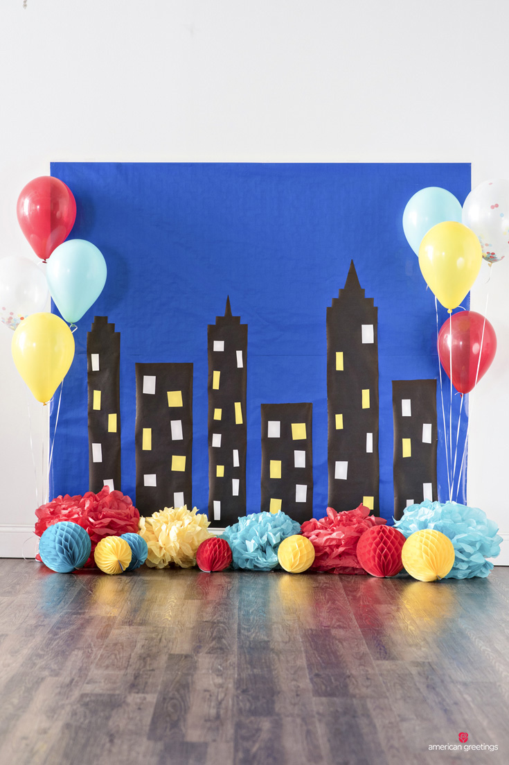 Superhero Birthday Party Ideas Inspiration