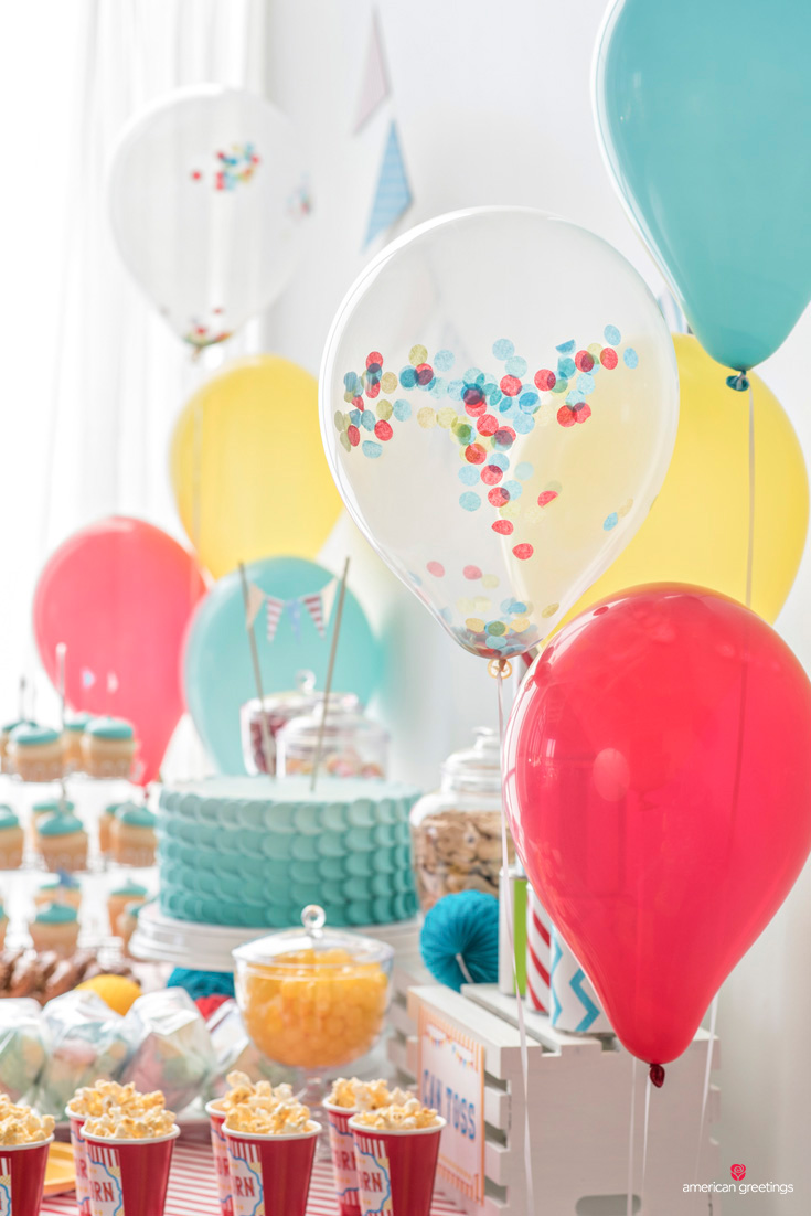 carnival party balloons