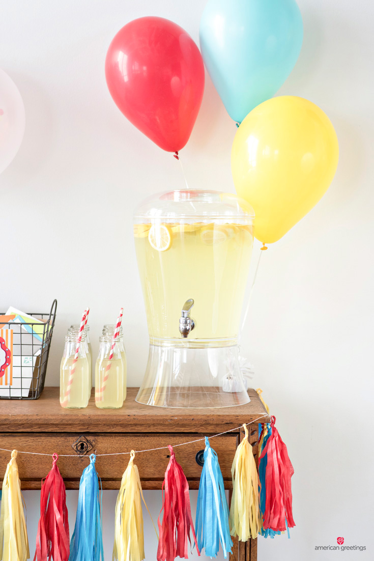 carnival birthday party - infeed