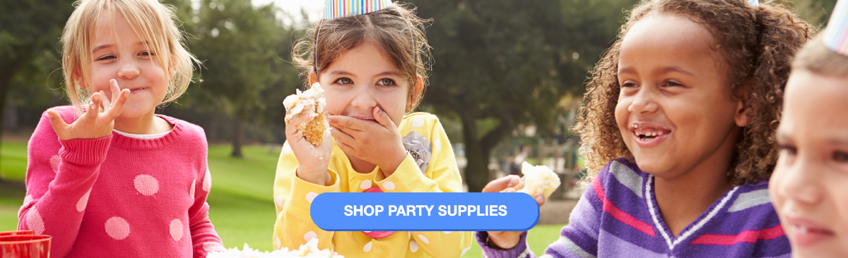 Children enjoying birthday cupcakes