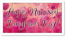 National Daughter's Day 9/25