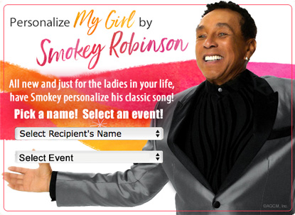 Smokey Robinson singing