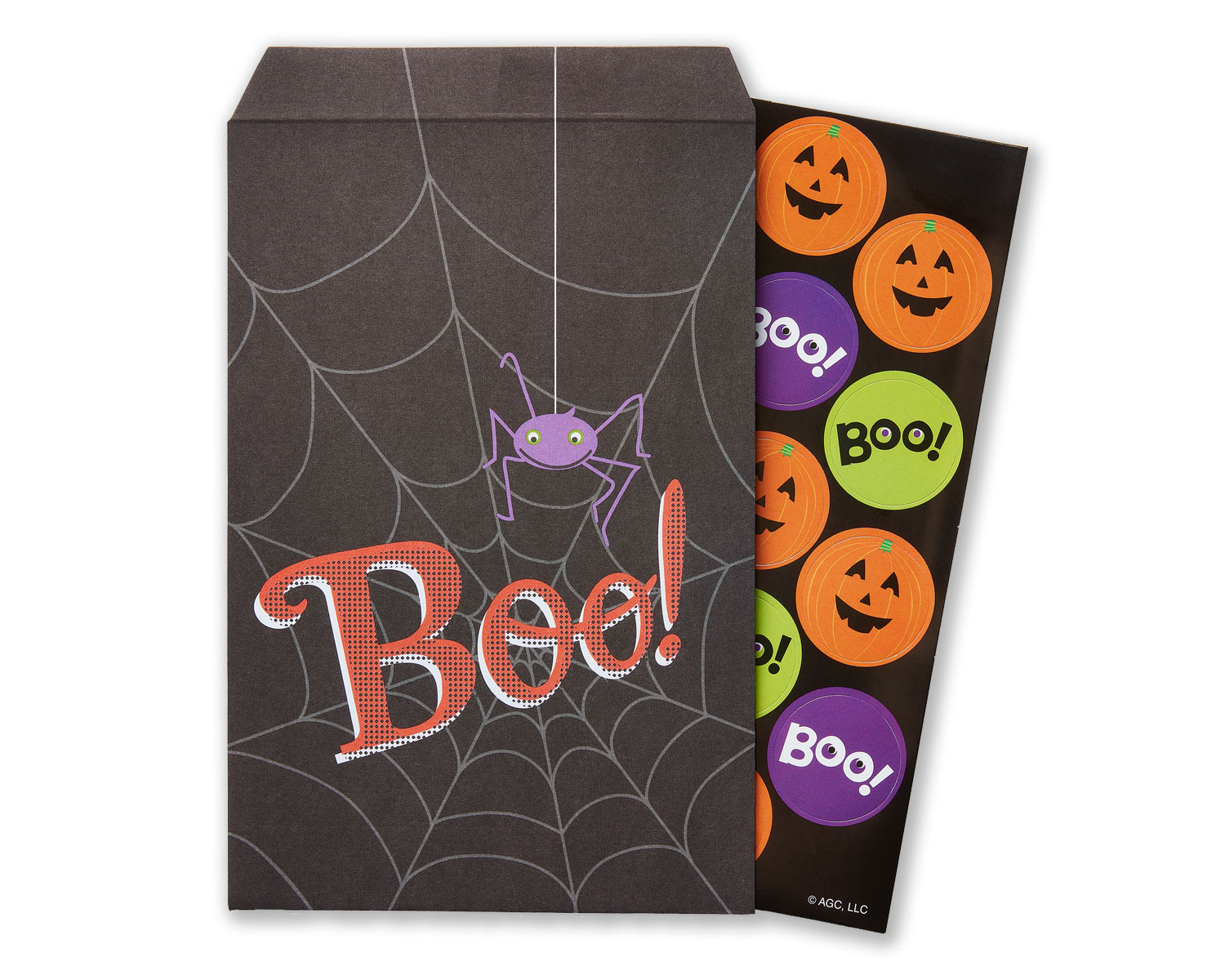 Boo! Stickers Set Party Supplies