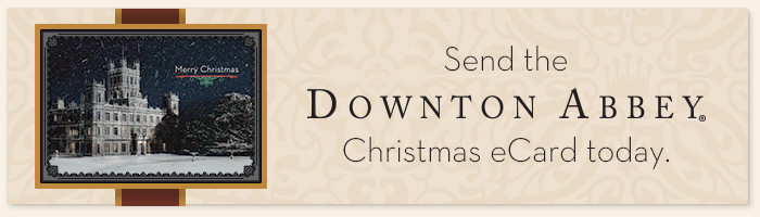 Downton Abbey Christmas eCard