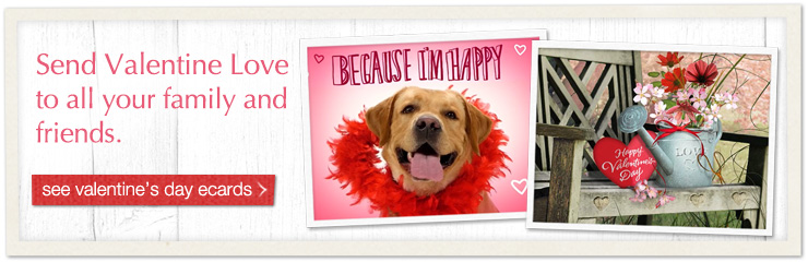 Send Valentine Love To All Your Family And Friends. See Ecards
