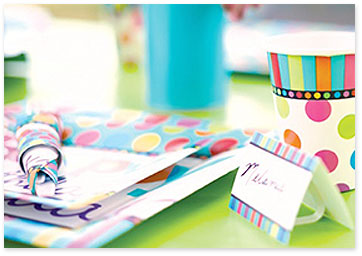 Colorful Birthday Party Table - Shop birthday party supplies