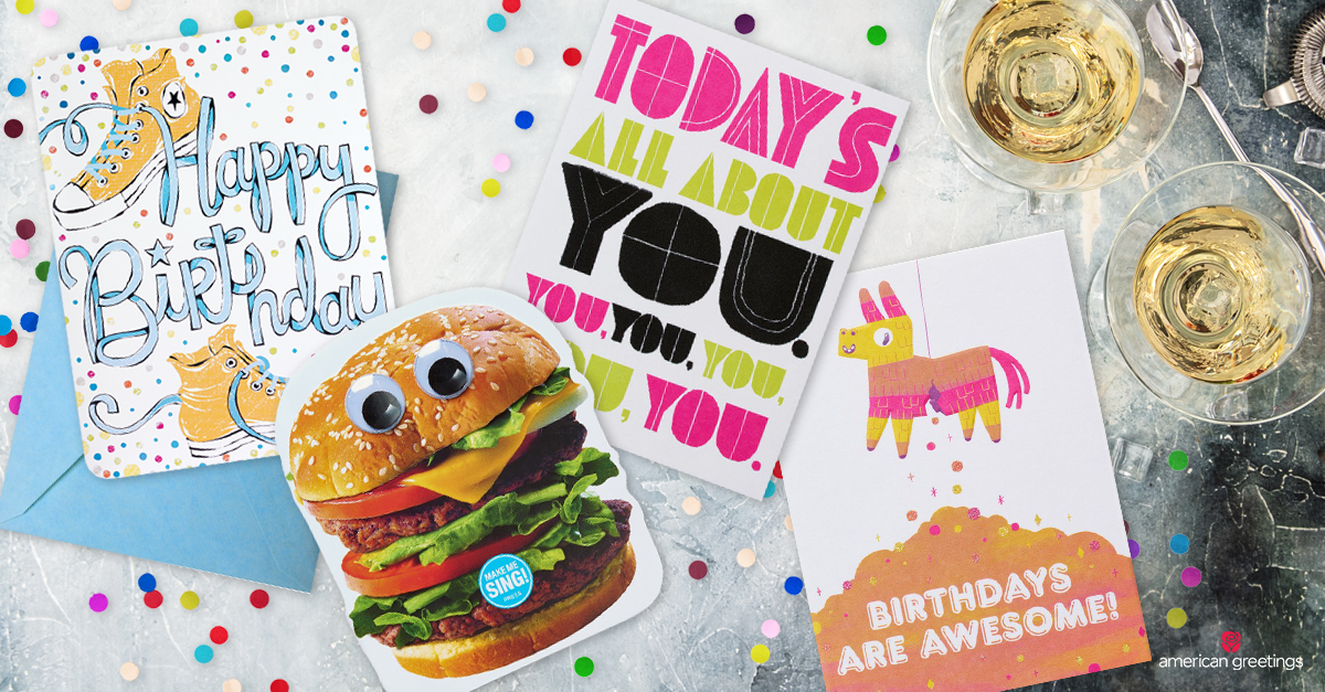 Brilliant What To Write In A Birthday Card For A Friend American Greetings Funny Birthday Cards Online Elaedamsfinfo
