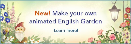 Jacquie Lawson English Garden