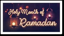 Ramadan 5/5 - 6/4 Passover 4/19 - 4/27