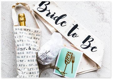 Image showcasing gifts appropriate for brides - Shop gifts for bride