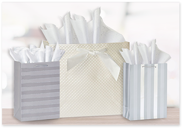 Gift wrap for baptism