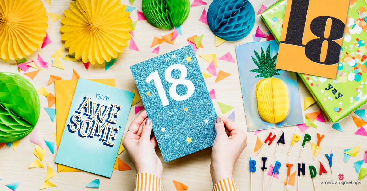 What To Write In An 18th Birthday Card American Greetings