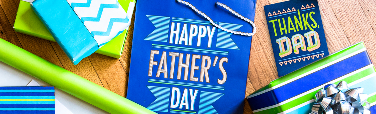 Father's Day Gifts and Cards Banner