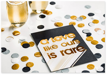 Love Like Ours is Rare - Shop Anniversary Cards