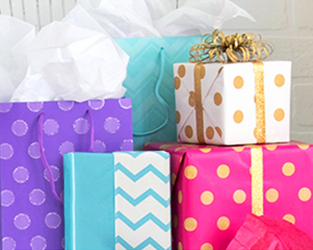 Shop Birthday Gift Wrap