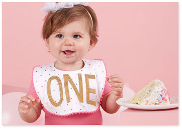 Image representing baby milestone gifts - Shop baby birthday hats & bibs