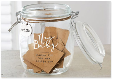 New Baby Wish Jar Decal Baby Shower Wishing Well Make A Wish For The New Baby Stickers Decor Decals Stickers Vinyl Art
