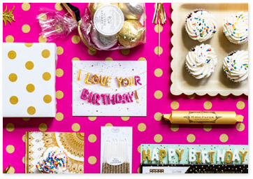 Pink Birthday Party Room Display - Get Birthday Party Ideas