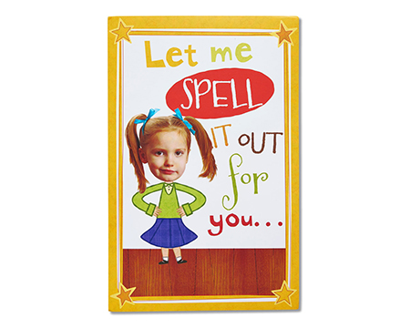 Spelling Bee Greeting Card - Shop Greeting Cards