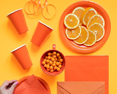 Orange Color Party Supplies - Shop All Party Supplies