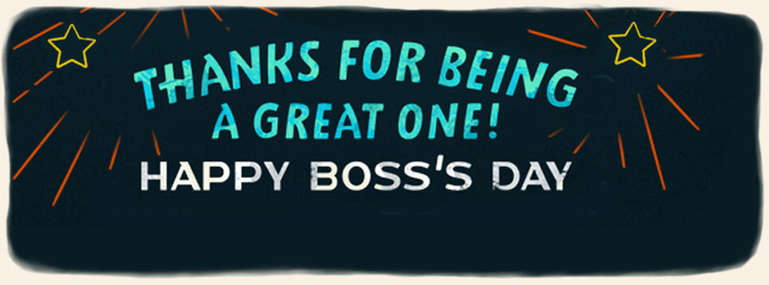 BMA Boss's Day Banner