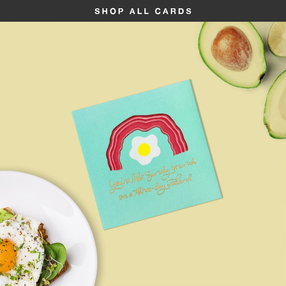 Shop All Cards - Sunday Brunch Greeting Card
