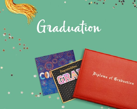 Graduation greeting cards and diploma - Shop Graduation