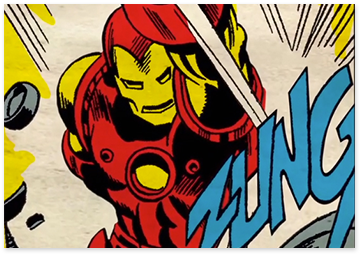 iron man comic image