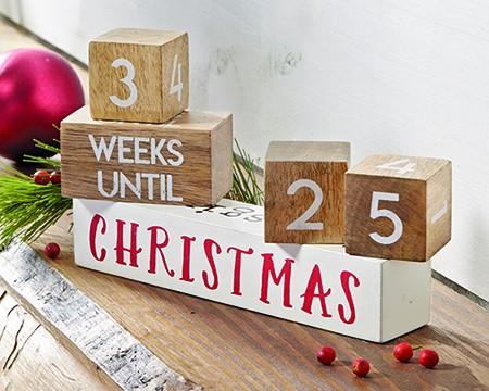 Christmas and Holiday Block Countdown