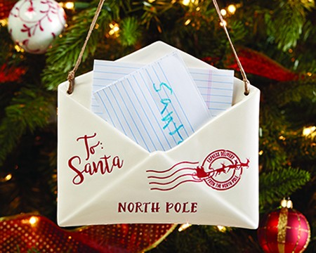 Letter to Santa Ornament