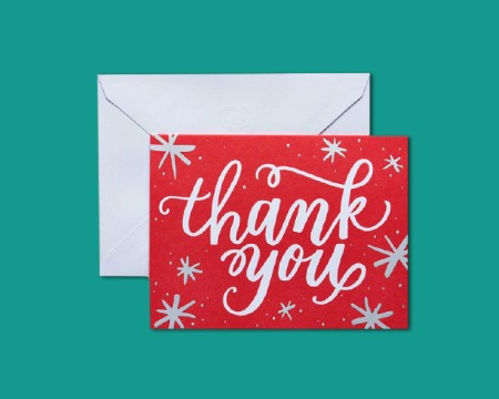 Christmas Thank You Stationery - Shop Stationery