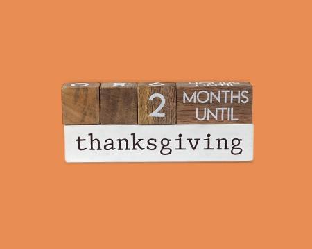 Thanksgiving Countdown Blocks
