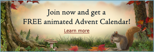 Join now and get a FREE animated Advent Calendar! Learn More