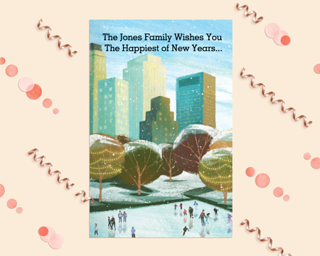 Printable New Years Cards