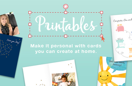 Printable Cards Customized And Created