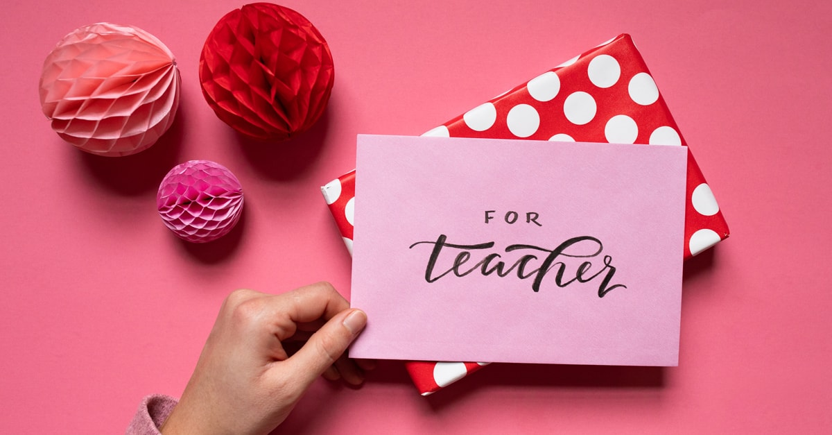 Valentines Gifts for Teachers