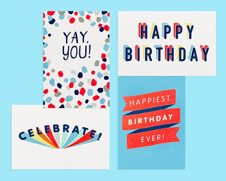 Birthday Card Bundles