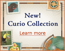 New Curio Collection - Learn more