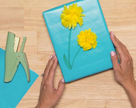 Dandelion Tissue Paper Flowers