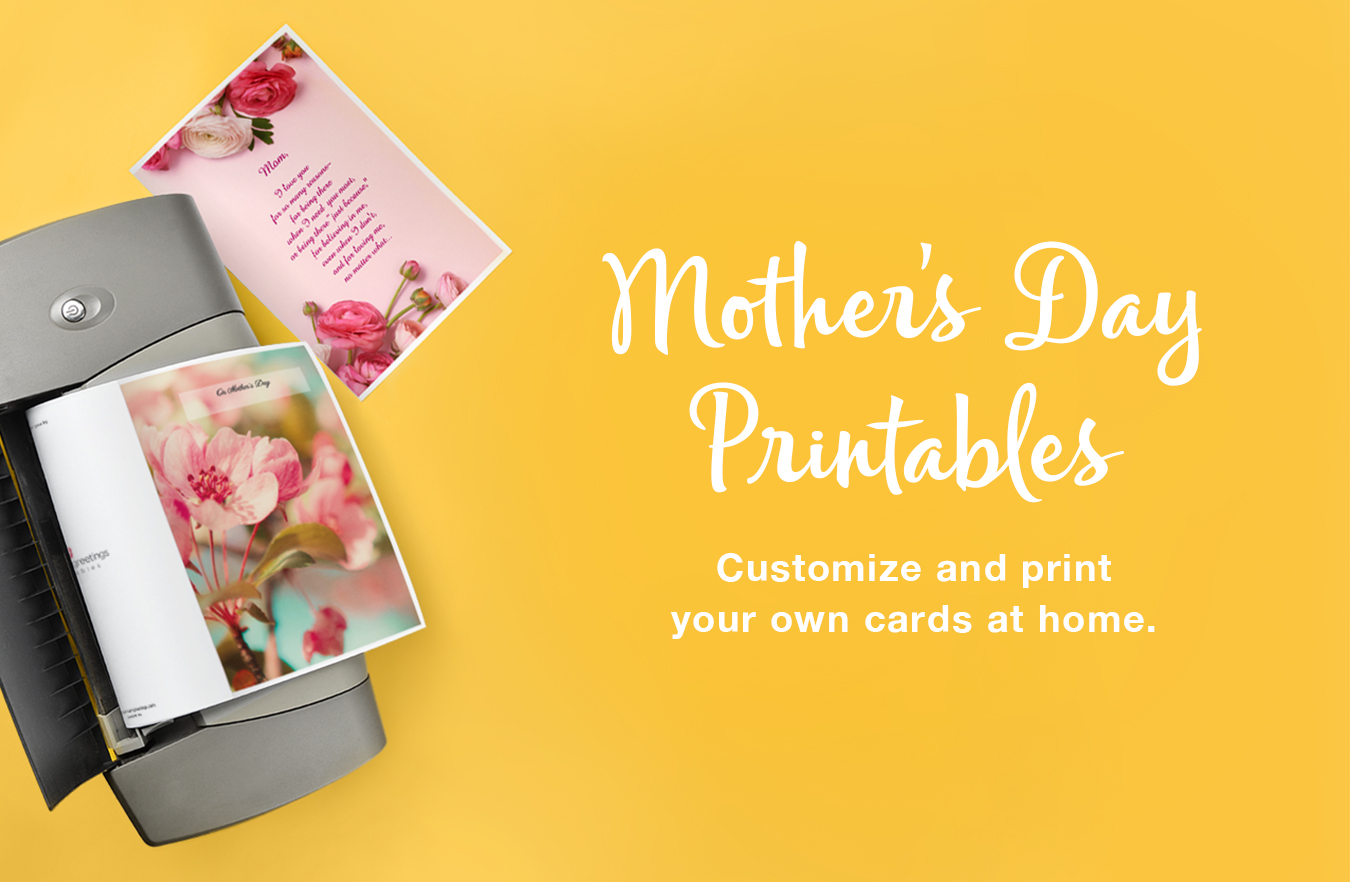 Mothers Day Printable Cards And Printer