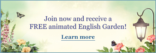Join Now And Receive A FREE Animated English Garden