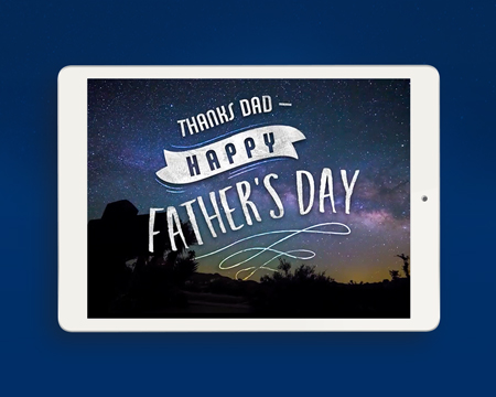 Heartfelt Father's Day Ecards