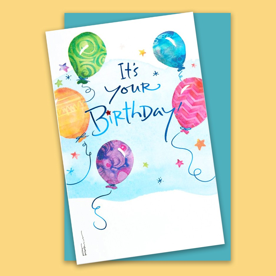 It's Your Birthday Kathy Davis Card