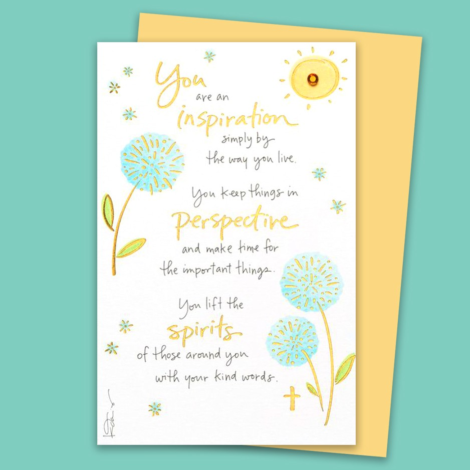 You are my Inspriation Kathy Davis Card