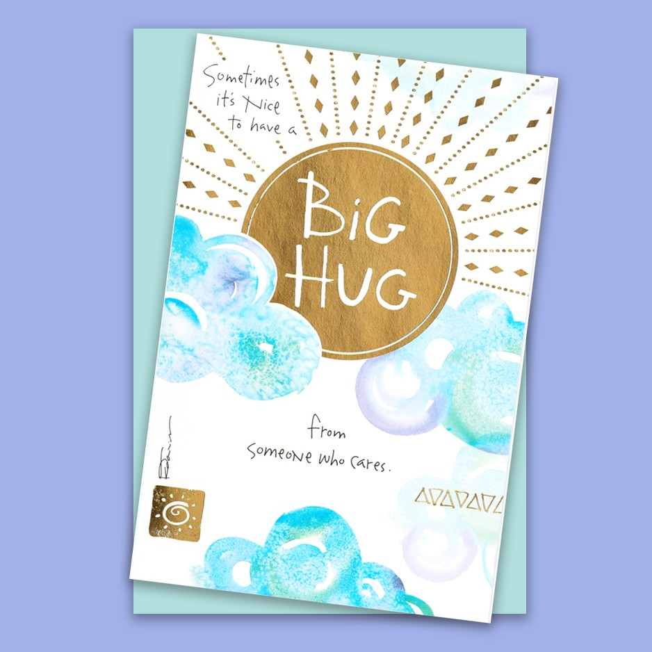 Big Hug Kathy Davis Card