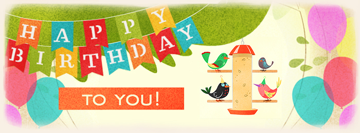 Birds Birthday eCards Banner - Blue Mountain