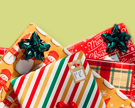 Christmas Gift Wrap Bundles