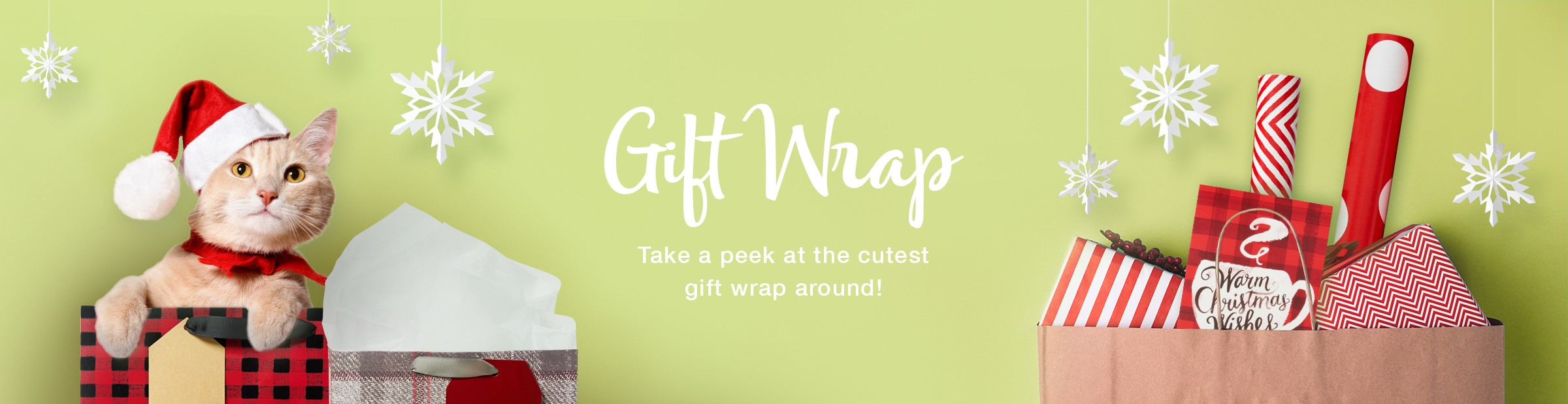 Gift Wrap, Gift Bags, Wrapping Paper, Bows and More
