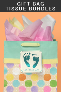 Gift Bag Tissue Paper Bundles